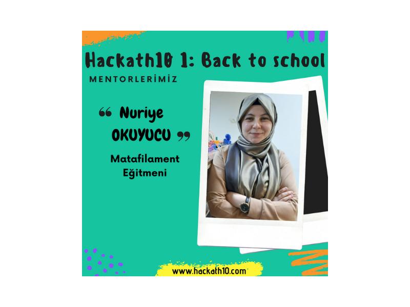Hackathon 1: Back to School 3D Kalem Eğitim