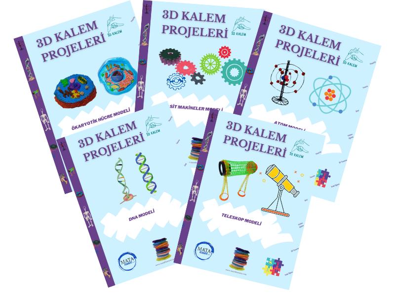 3D Kalem Projeleri Kitapçıkları