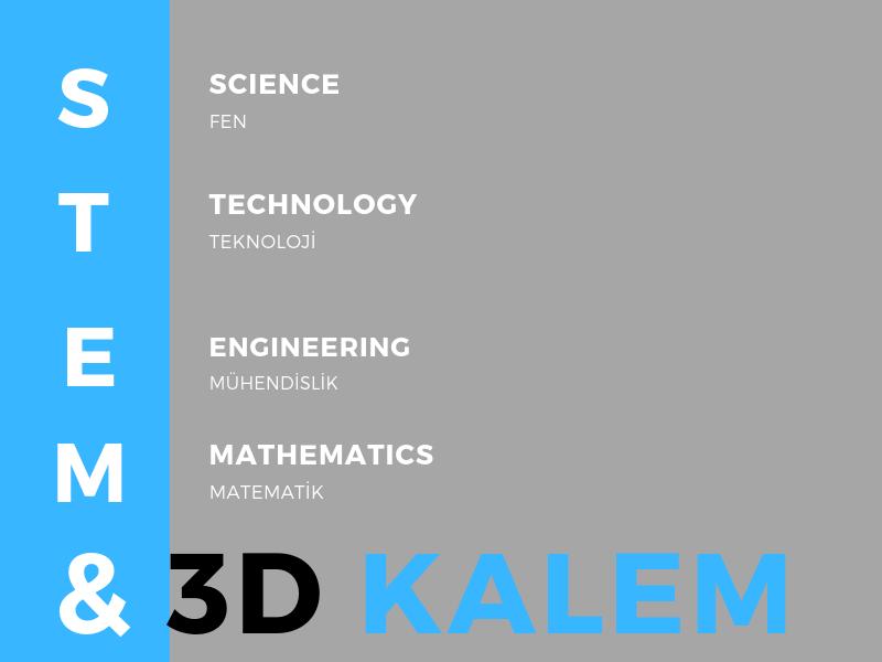STEM VE 3D KALEM