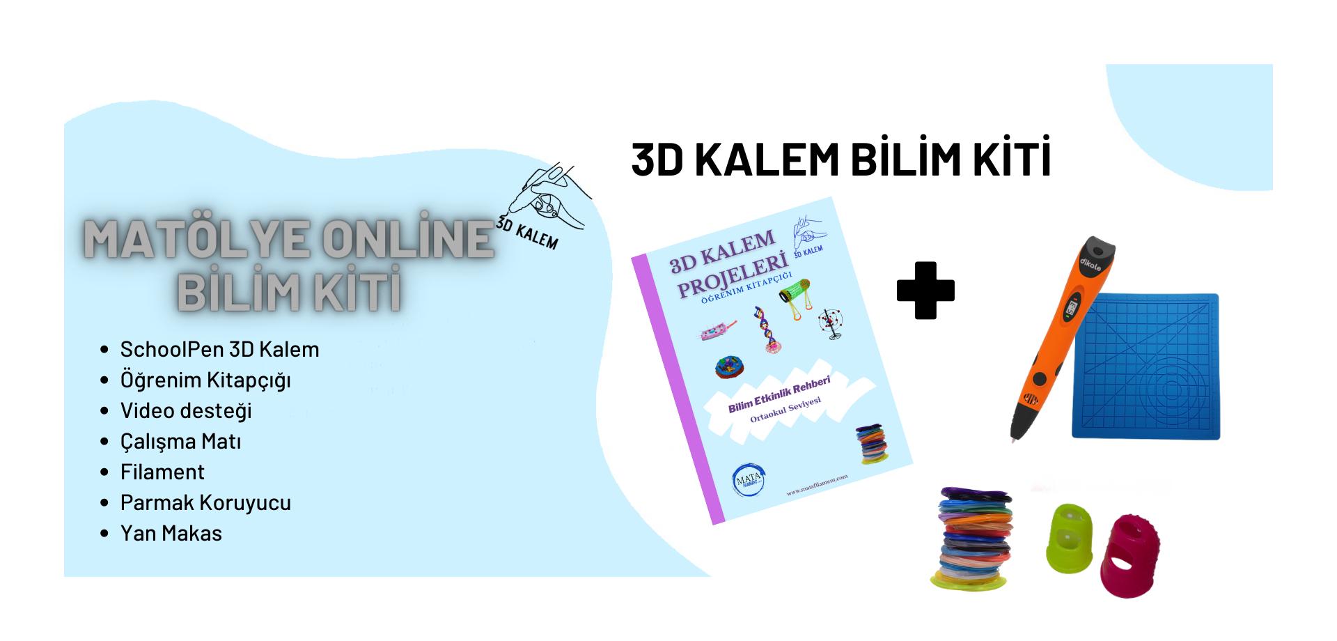3D Kalem Bilim Kiti