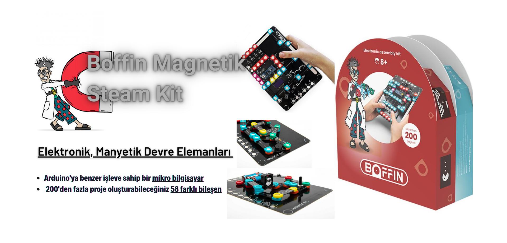 Boffin Magnetik Steam Kit